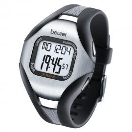 Reloj Monitor de Pulso Beurer PM18-Negro con Gris