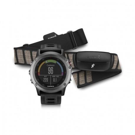 Reloj Multideporte Garmin Fenix 3 con banda-Gris - Envío Gratuito