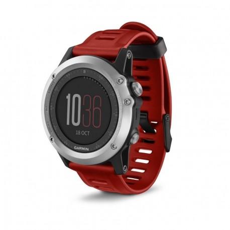 Reloj Multideporte Garmin Fenix 3-Rojo - Envío Gratuito