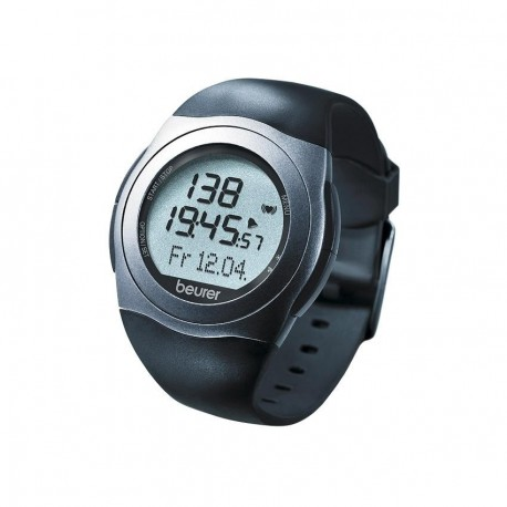 Reloj Monitor de Pulso Beurer PM25-Negro con Gris - Envío Gratuito