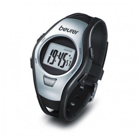 Reloj Monitor de Pulso Beurer PM15-Negro con Gris - Envío Gratuito