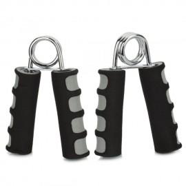WMF09983 anu forma entrenamiento muscular empu?adura de espuma - Negro + Gris (2 piezas)