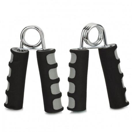 WMF09983 anu forma entrenamiento muscular empu?adura de espuma - Negro + Gris (2 piezas) - Envío Gratuito