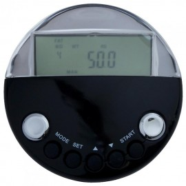Mini podómetro Digital Multifunción con analizador de grasa (3 * CR2025)