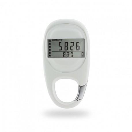 Step Count 3D Sensor pedometer(Blanco) - Envío Gratuito