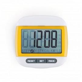 Mini LCD Pedometer (Amarillo)
