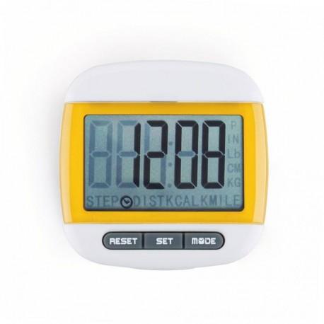 Mini LCD Pedometer (Amarillo) - Envío Gratuito