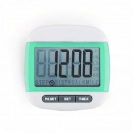 Mini LCD Pedometer (Verde)