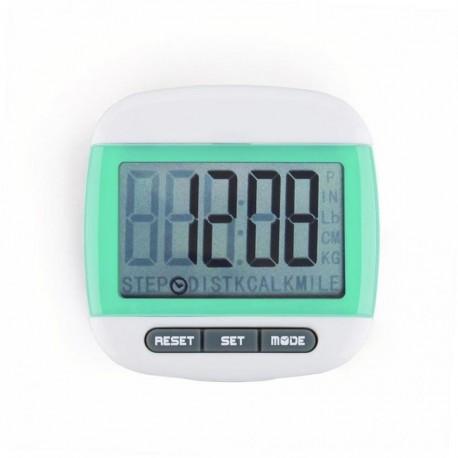 Mini LCD Pedometer (Verde) - Envío Gratuito