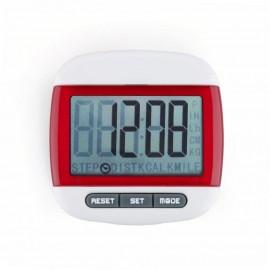 Mini LCD Pedometer (Rojo)