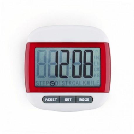 Mini LCD Pedometer (Rojo) - Envío Gratuito