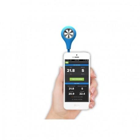 Anemometro Digital para Smartphone WeatherFlow Medidor de Viento iPhone iPad Android - Envío Gratuito