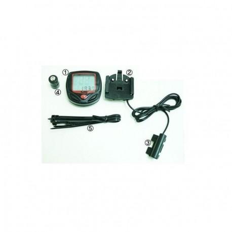 Velocímetro LCD para Bicicleta WLCP-006-Negro - Envío Gratuito