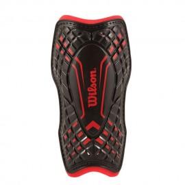 Espinillera Backstop Wilson WTE550900S-Rojo con Negro