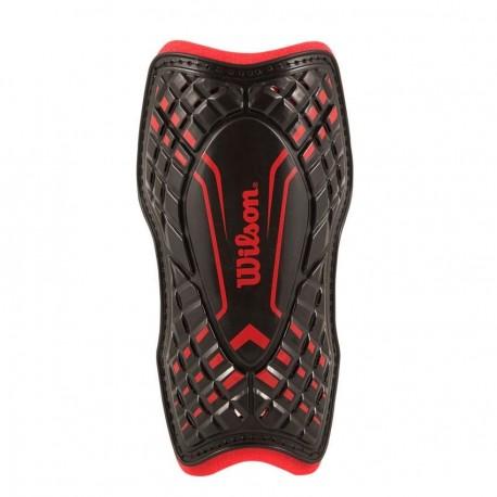 Espinillera Backstop Wilson WTE550900S-Rojo con Negro - Envío Gratuito