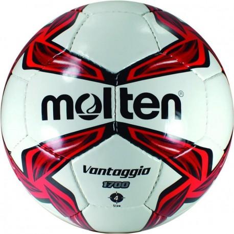 Balón Futbol Cosio a Mano Molten Vantaggio 5 - Rojo - Envío Gratuito