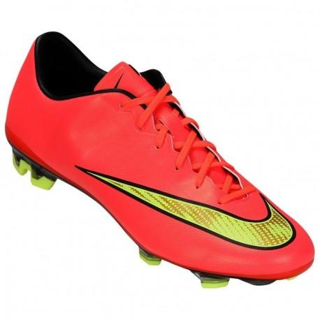 Tachones para Fútbol Nike Mercurial Veloce FG Punch para Caballero - Rojo - Envío Gratuito