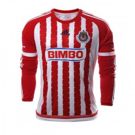 Jersey Adidas Local 15/16 - Rojo con Blanco - Envío Gratuito