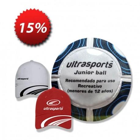 Balon + Gorra Ultrasports - Envío Gratuito