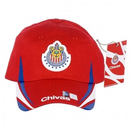 Gorra para Adulto del Club Chivas CCH141301G - Envío Gratuito