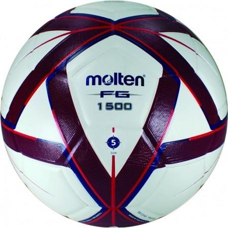 Balón Futbol Laminado Molten Forza 5 - Azul/Rojo - Envío Gratuito