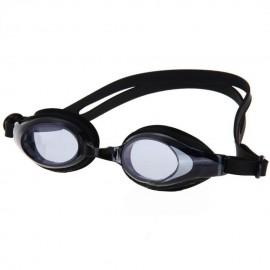 Con alta calidad Gafas de Deportes antiniebla impermeable + enchufes de oído Negro - Envío Gratuito