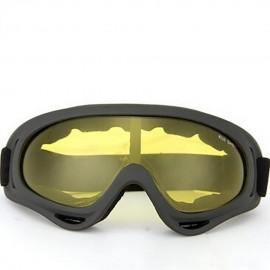 Elenxs Nueva motocicleta Deportes al aire libre de los ojos Gafas de protección / GlassesSnowmobile Amarillo - Envío Gratuito