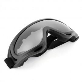 Nueva motocicleta Deportes al aire libre de los ojos Gafas de protección / GlassesSnowmobile Gris Negro - Envío Gratuito