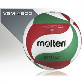 Balon Voleibol Molten V5M4500 Piel Sintetica 5-Multicolor - Envío Gratuito