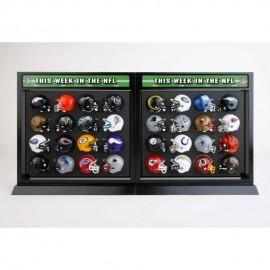 Exhibidor Match Up Set Incluye 32 cascos Riddell - Envío Gratuito