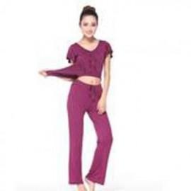 Estilo Coreano Deporte Fitness Yoga (Yoga Algodón Artificial) (marrón) - Envío Gratuito