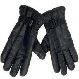 Guante Termico Antiderrapante con Borrega Interior Super Calientitos Color Negro - Envío Gratuito