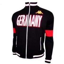 Chamarra Alemania Kappa Caballero CM063AL Negro - Envío Gratuito