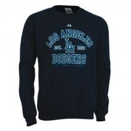 Sudadera Majestic LA Dodgers Sweatshirt-Azul - Envío Gratuito