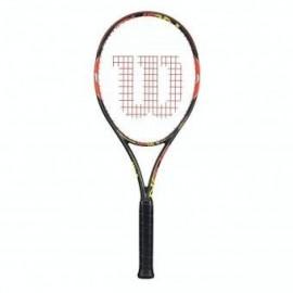 Raqueta Profesional Burn 100ULS Wilson WRT72561U2-Naranja con Negro - Envío Gratuito