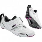 Zapatos de Triatlón Louis Garneau X-Lite Blancos para Mujer - Envío Gratuito